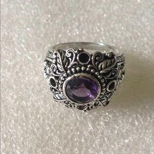Vintage gem ring